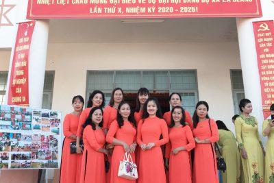 Trường TH&THCS Đinh Núp với Đại hội Đảng bộ xã Ea Blang